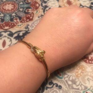 EFFY cheetah bracelet (costume jewelry)